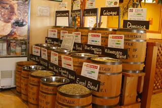 販売用珈琲豆
